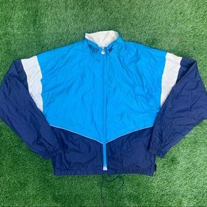 Vintage ASICS Gortex Full ZIP Athletic Jacket Med